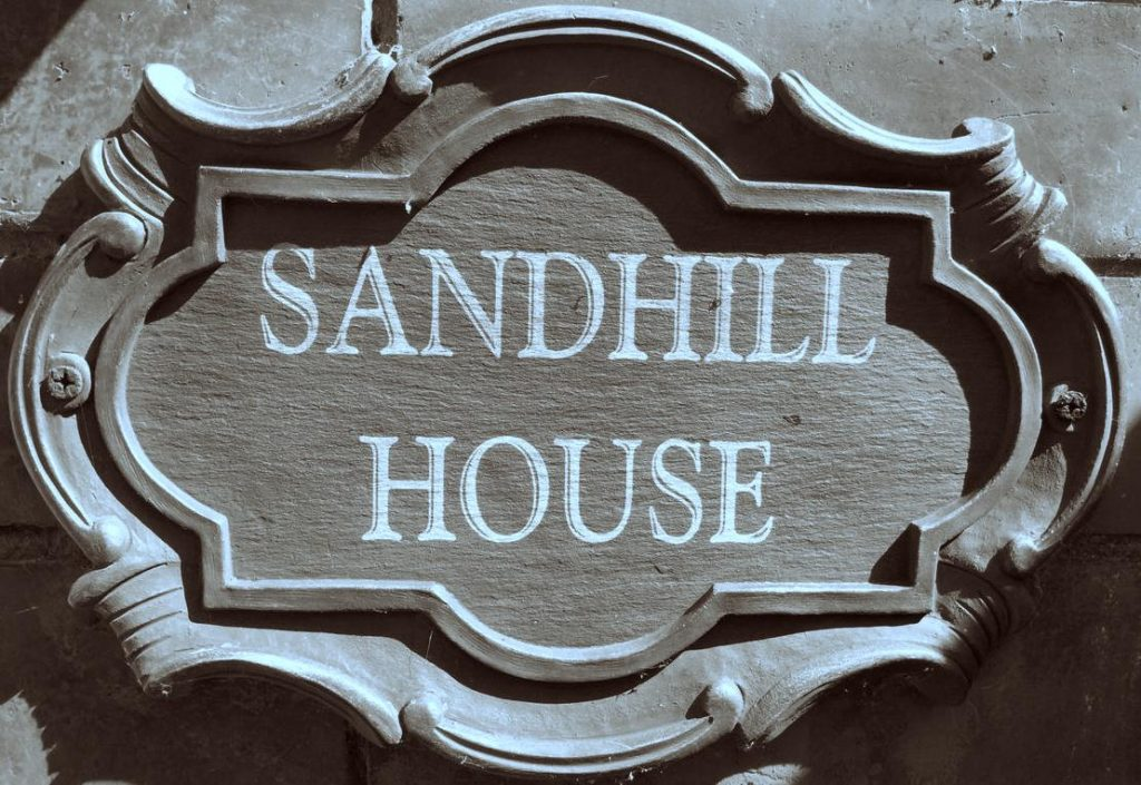 Sandhill House Plaque Quality and Classic Bed and Breakfast Troon