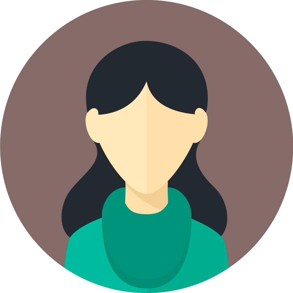 flat-faces-icons-circle-woman-7