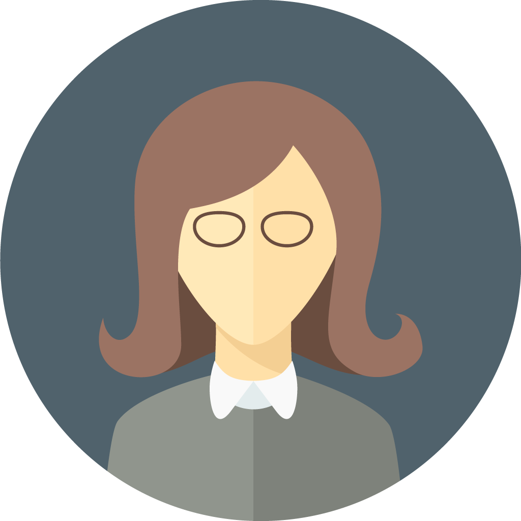 flat-faces-icons-circle-woman-8