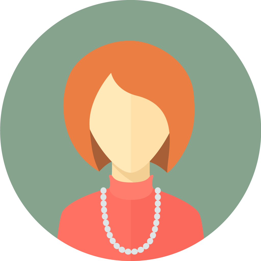 flat-faces-icons-circle-woman-9